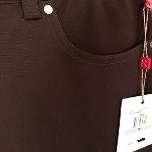 Brand new brown stretch dress pants